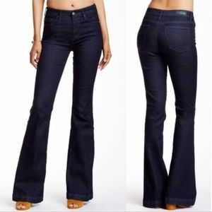 AG Janis High Rise Flare Dark Wash Jeans